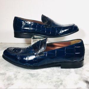 Stacy Adams Men's Corsica Blue Slip-on's 25027-400